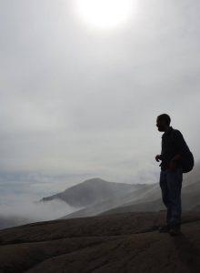 Carlos Martínez at Mount Bromo
