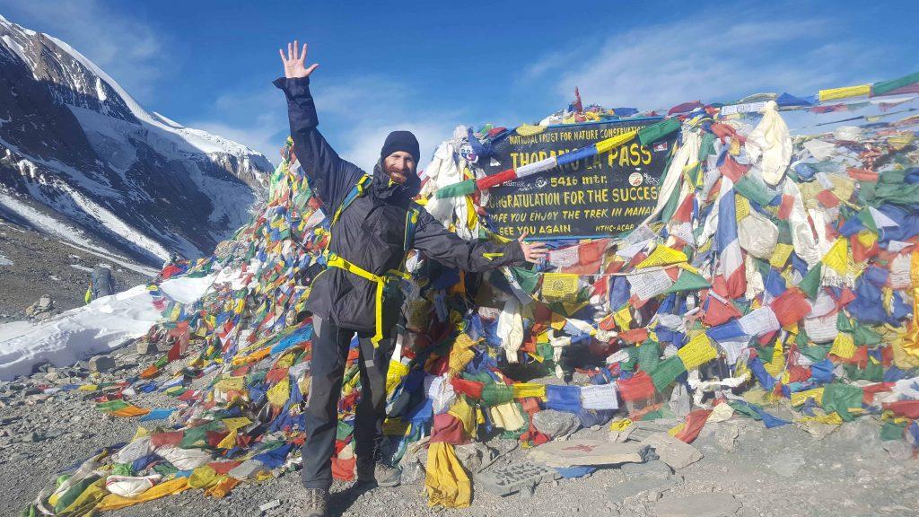 Thorong La Pass - Annapurna Trekking Circuit