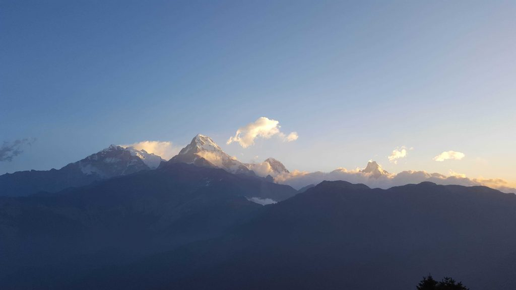 Poon Hill Viewpoint - Annapurna Base Camp view