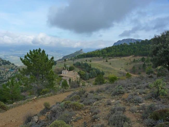 Camino desde Cazorla al Refugio Casa Forestal Collado Zamora