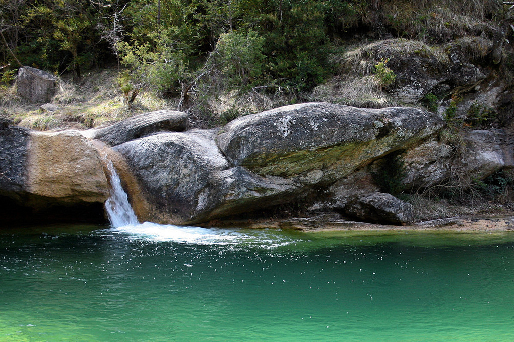 Las siete cascadas de Campdevànol