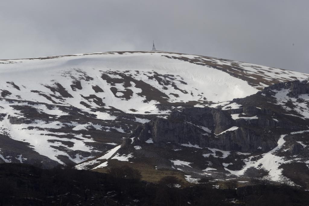 Monte de Gorbea Senderismo Invierno