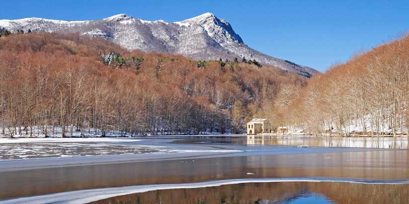 Spanish hiking routes to do in winter Montseny