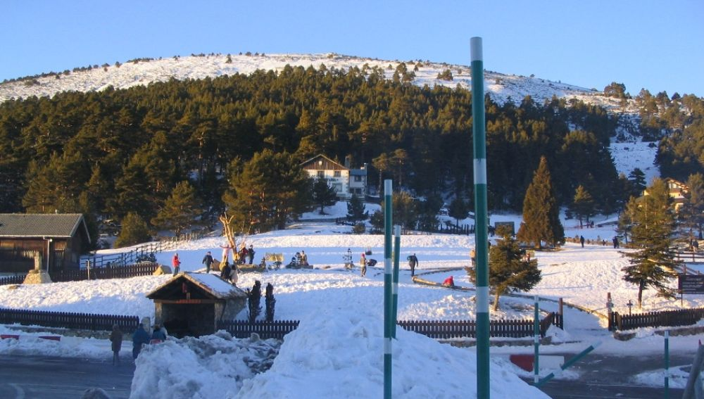 Sierra Guadarrama circuit for cross-country skiing