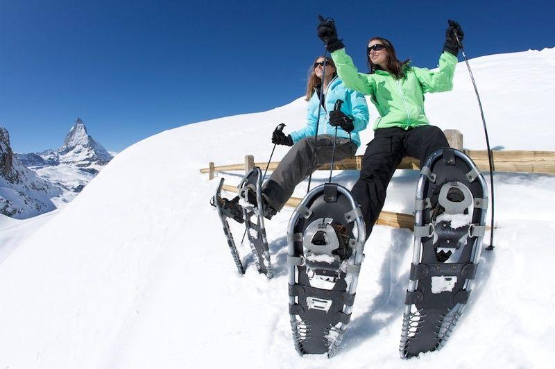 senderismo en nieve