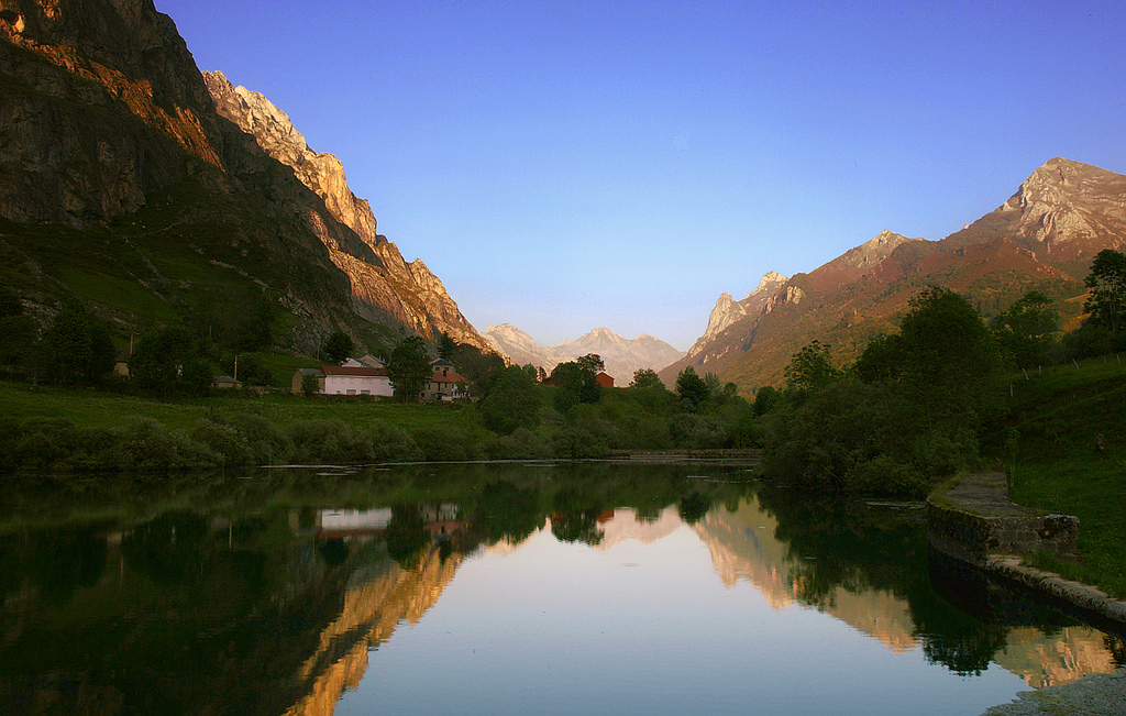 Valle en Somiedo, Asturias