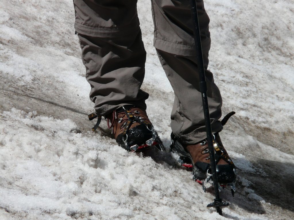 Boots and their compatibility with different types of crampons