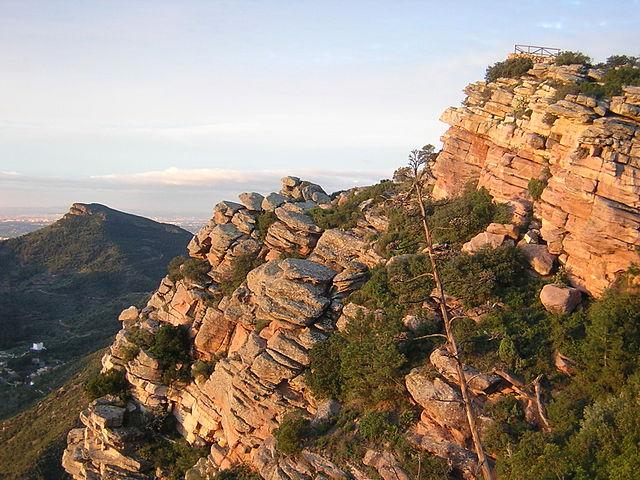 Mirador del Garbí Comunidad Valenciana