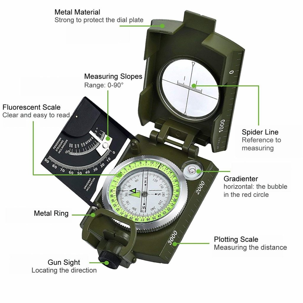 compass hiking
