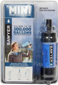 hiking water filter