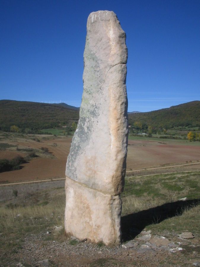 Route of the menhirs of Valdeolea