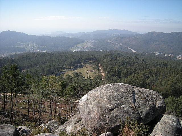 Senderismo en Galicia Monte Galiñeiro