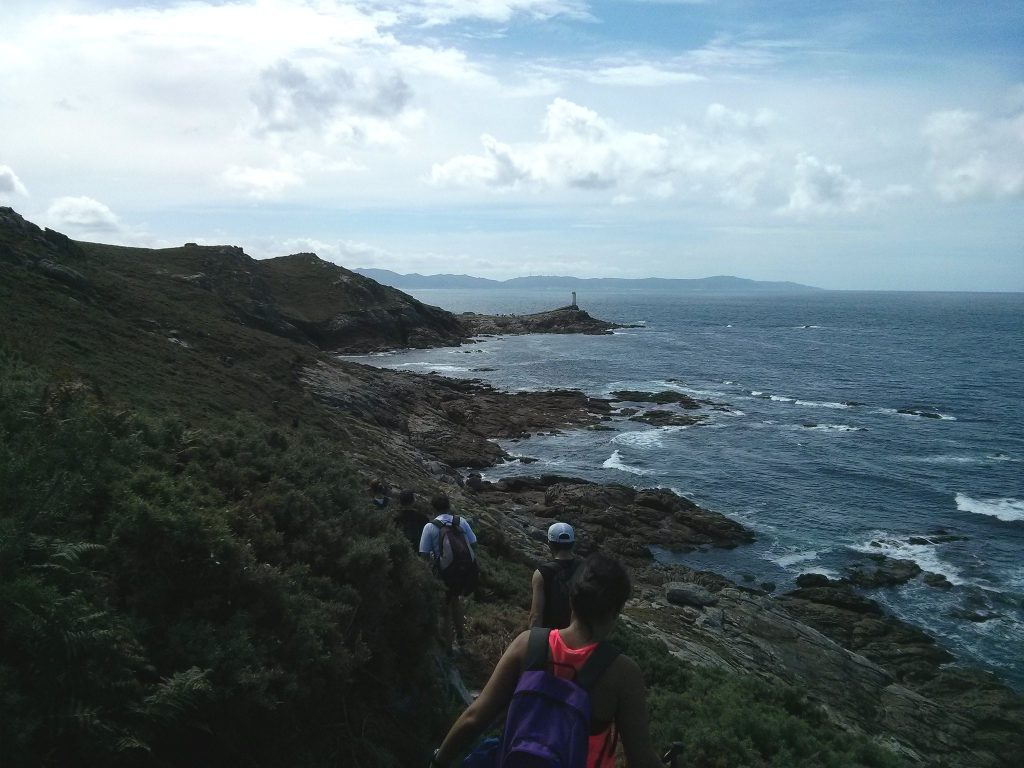 Hiking on the Camiño dos faros