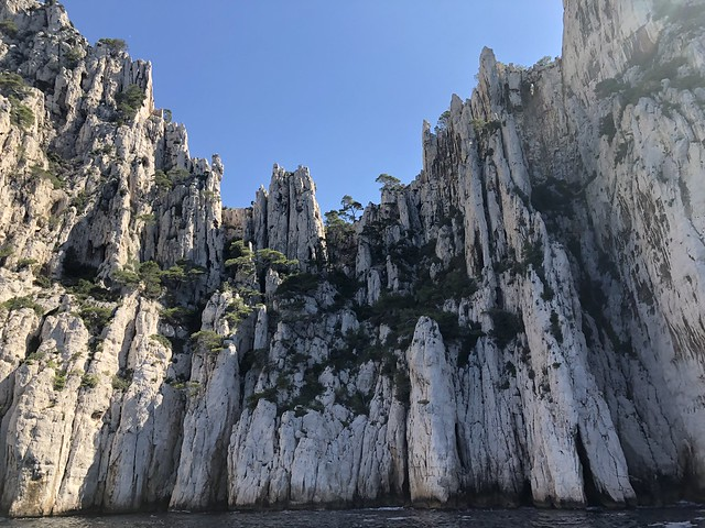 Calanques National Park hiking France