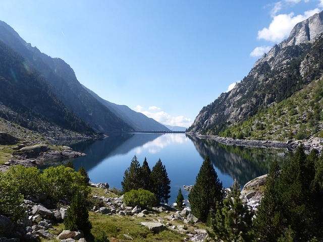 Hiking in Estany Lake, Andorra