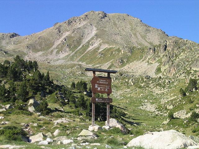 Senderismo Pico Montmalús Andorra