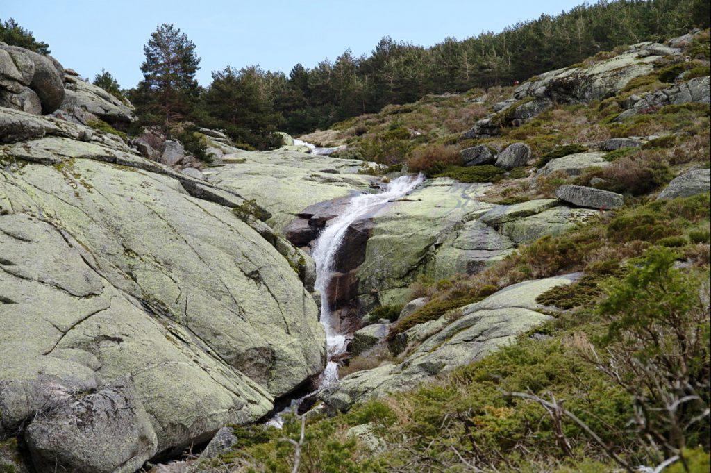 trekking with water Chorro Grande segovia