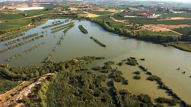 Rutas de senderismo país vasco Lagunar de Laguardia (Argazkia)