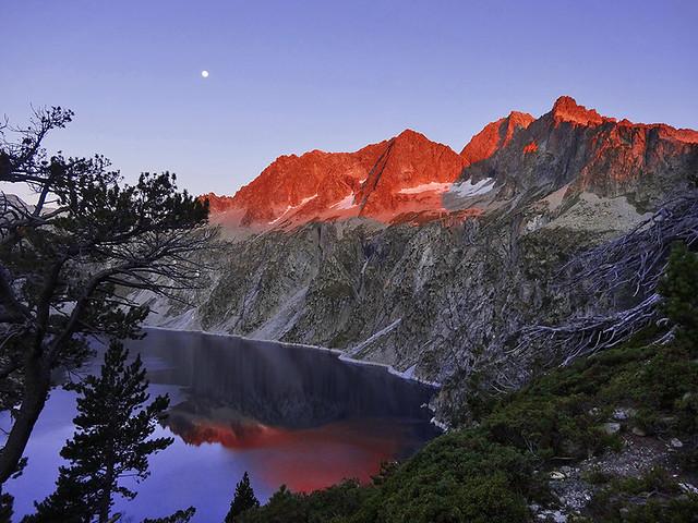 Senderismo por los lagos de Néouvielle, Francia