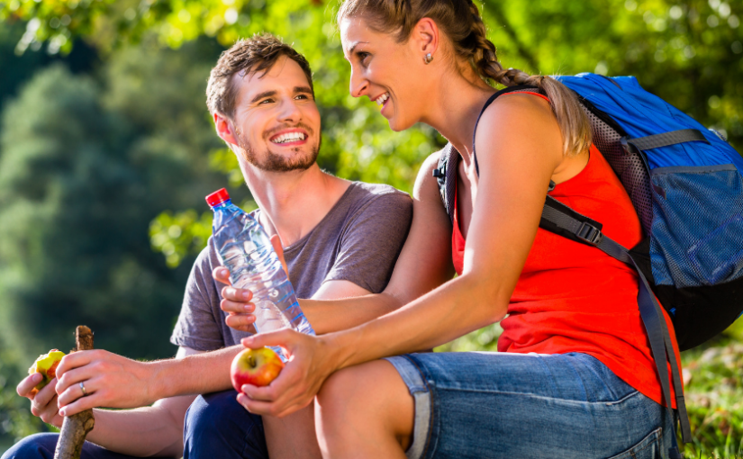 Eating and staying hydrated on summer routes