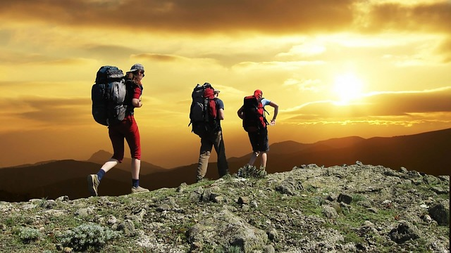 route and weather for safety measures in hiking