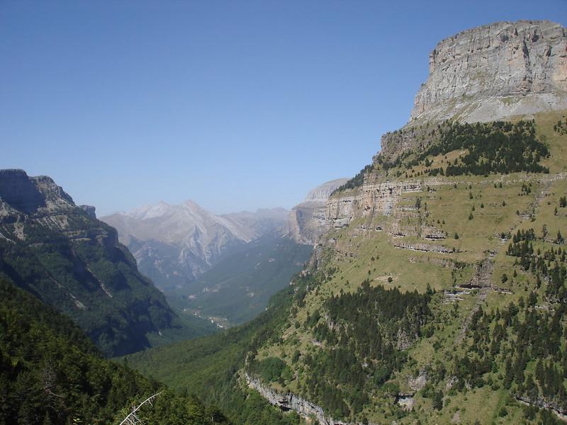 Senderos para correr por Monte Perdido