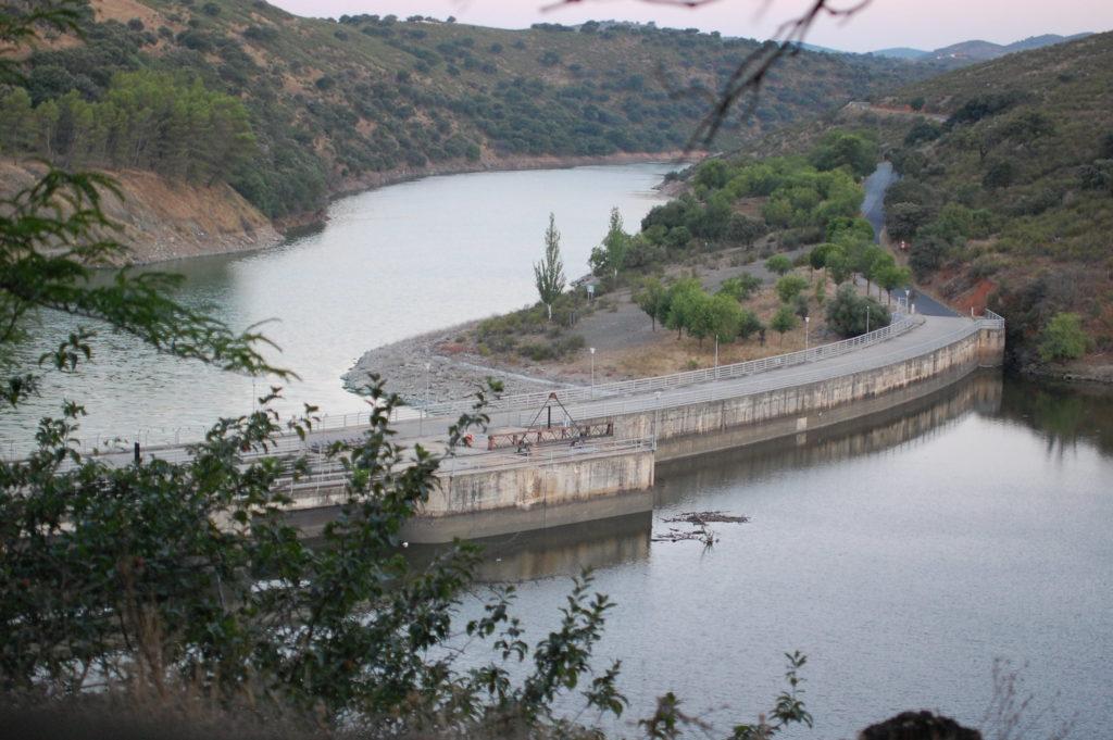 Vista de los senderos de  Monfragüe