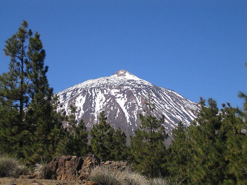Vistas del pico del Teide