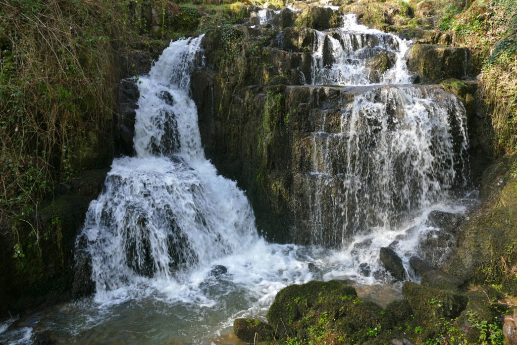 The small waterfall of Mortain Normandy
