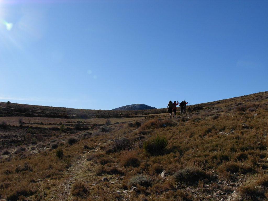 Pico del Obispo, Massif of Revolcadores