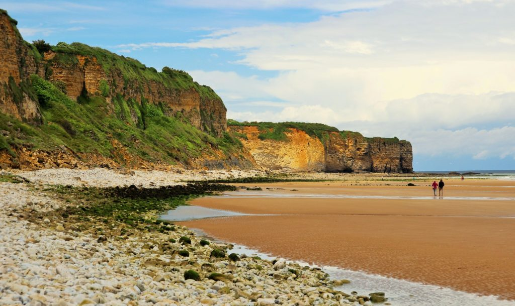 Omaha Beach  playa de Colleville a Saint Laurent