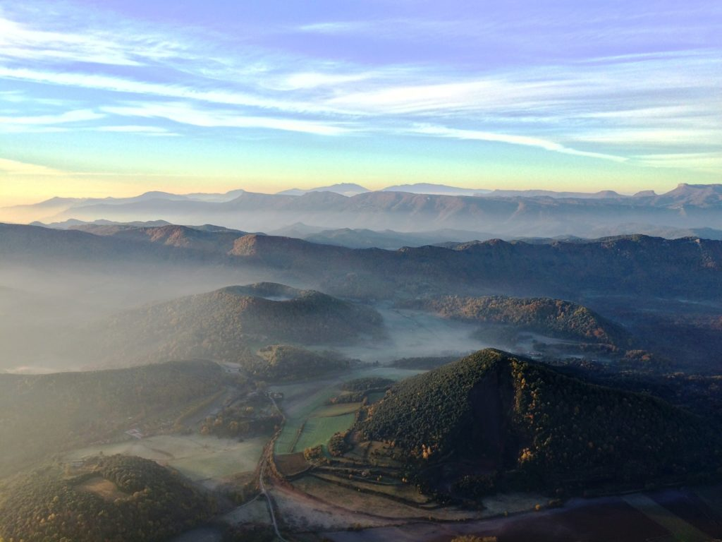 Views of La Garrotxa