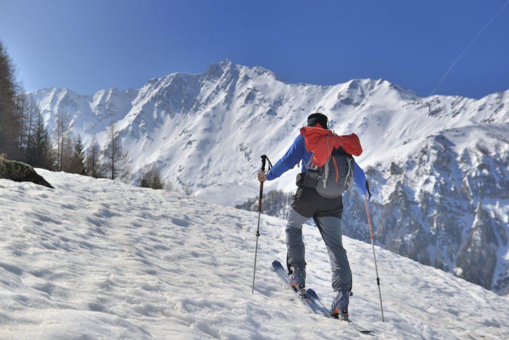 qué es el esquí de travesía