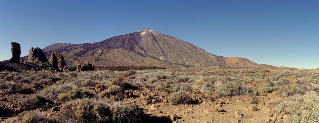 Views of the El Teide Volcano