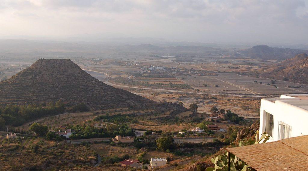 Cabo de Gata volcano