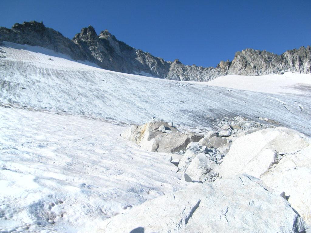 El glaciar de Maladeta