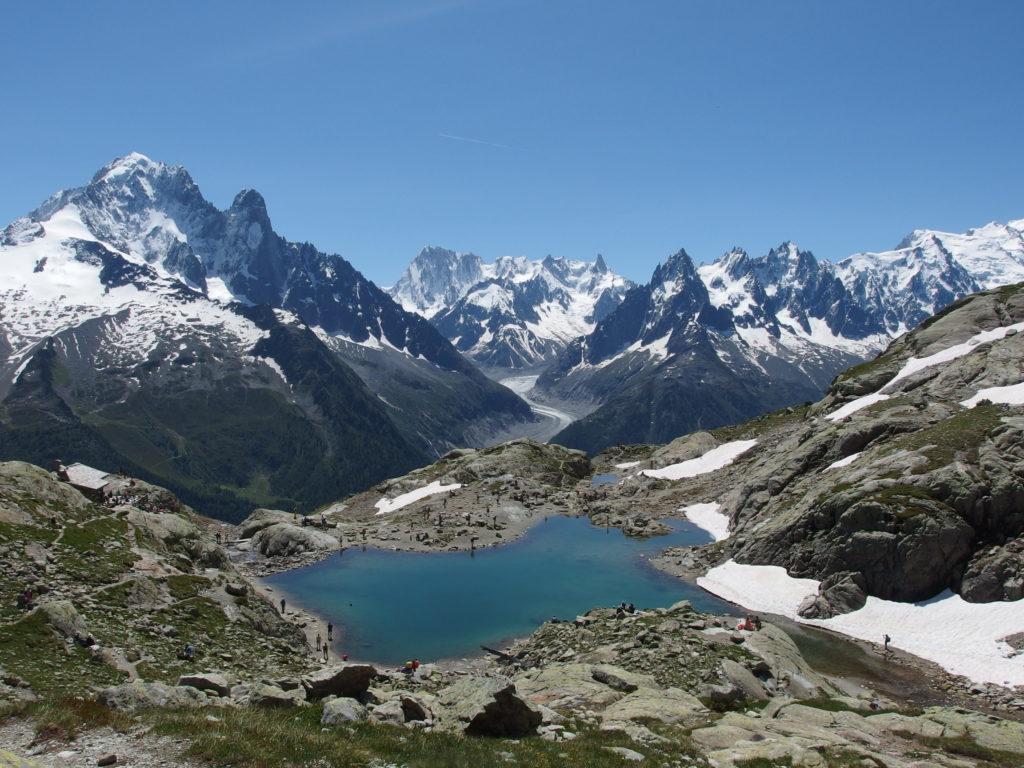 Lac Blanc Aiguilles Rouges, Chamonix