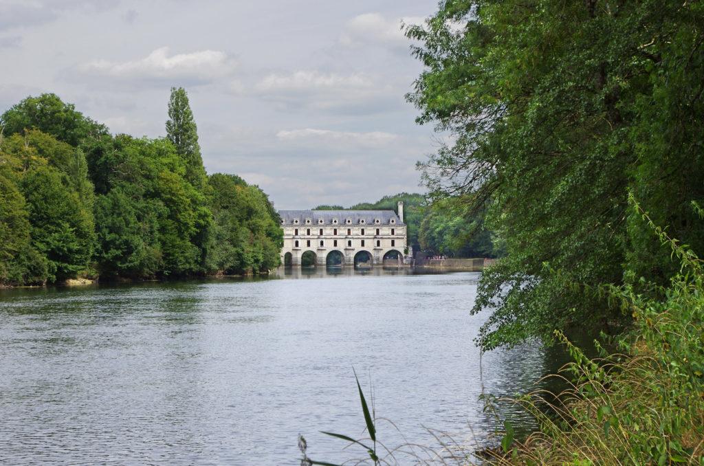 El castillo de Chenonceau en Cher.