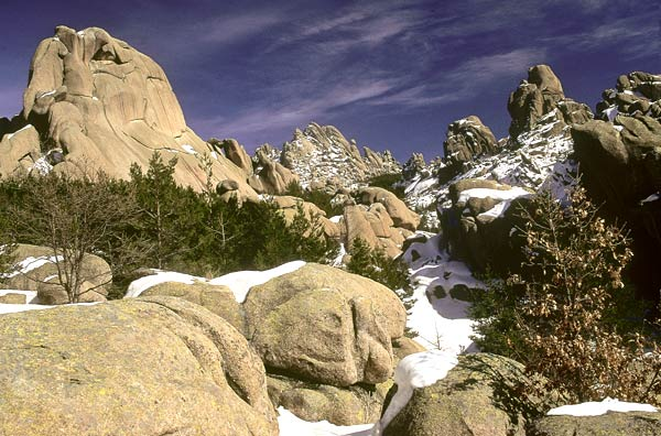 La Pedriza, High Route of Guadarrama