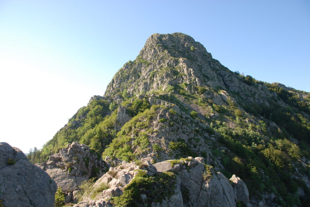 Les Agudes cimas  Montseny